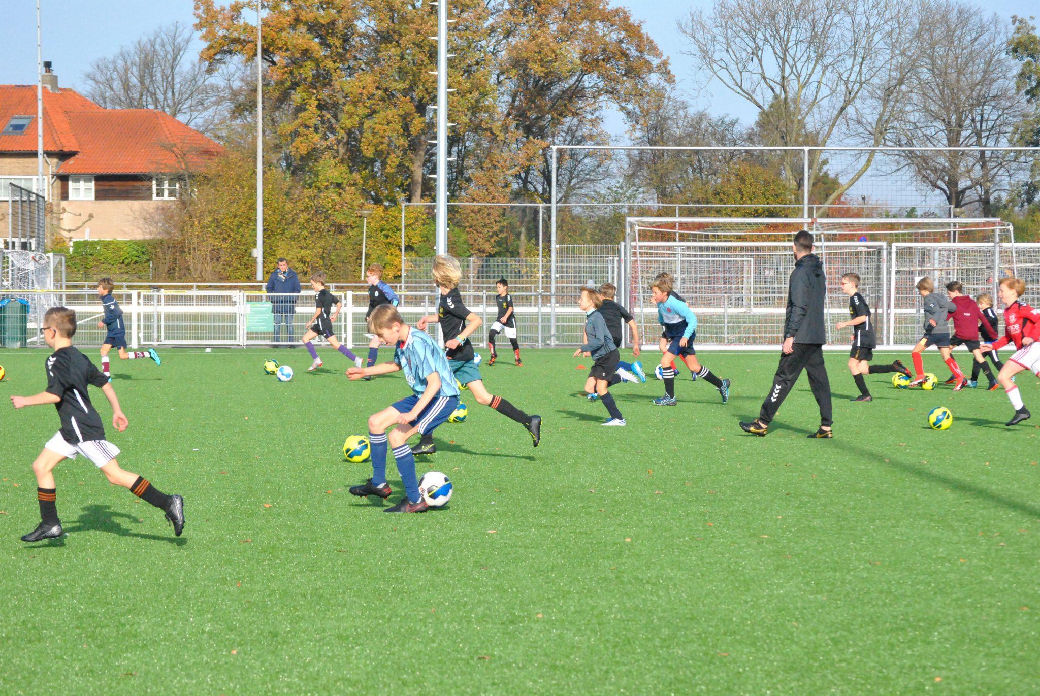 Interne jeugdtrainerscursus bij sv NVC