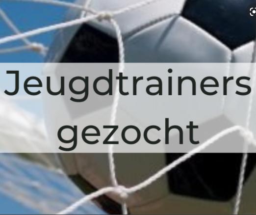 Gezocht: assistent trainers voor jeugdtrainingen.