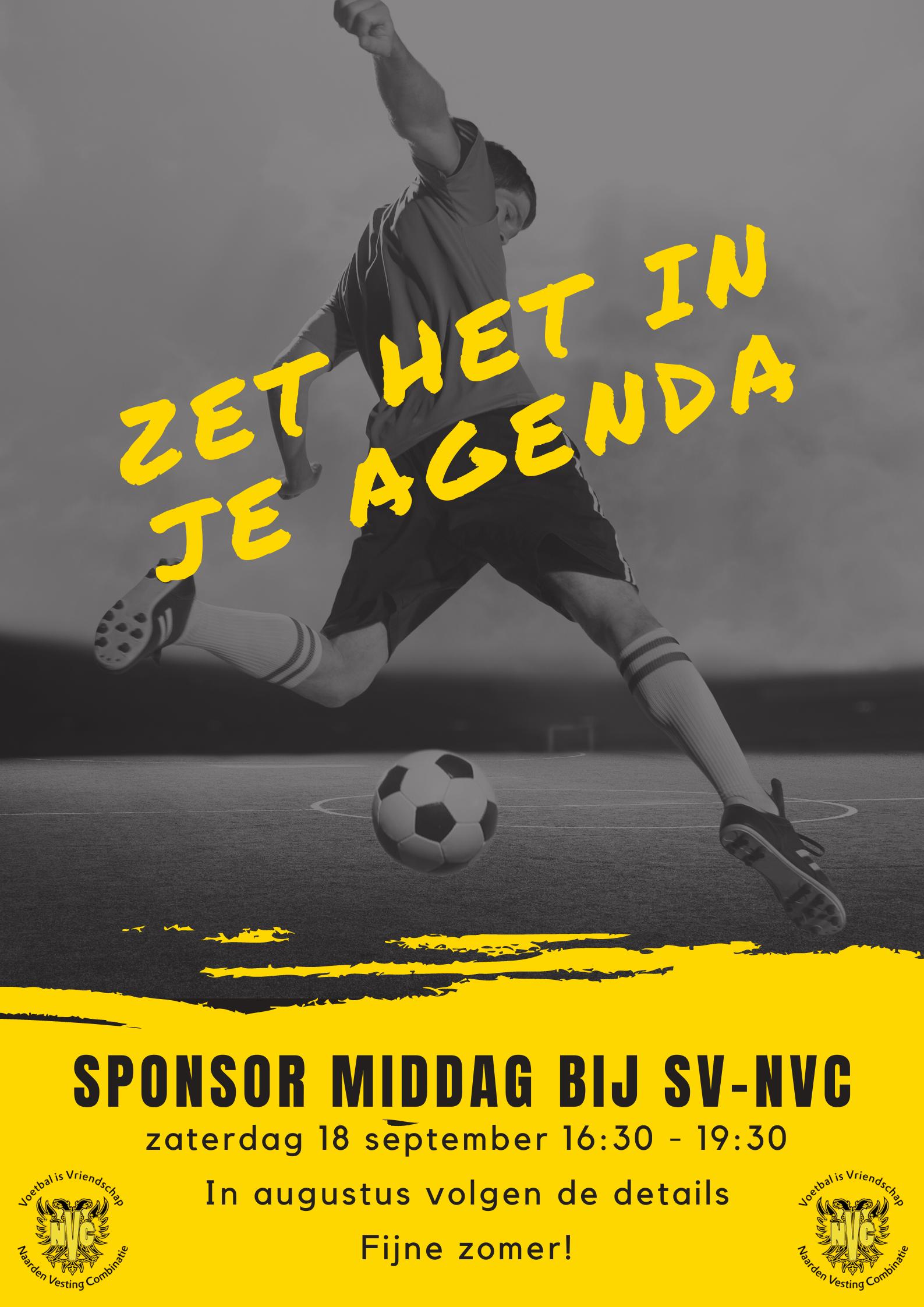 Save the date: sponsormiddag bij NVC